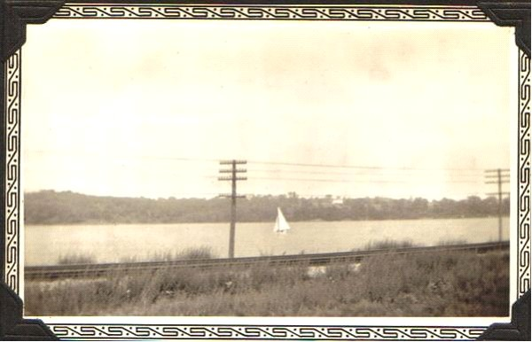 Huron River Drive in 1936